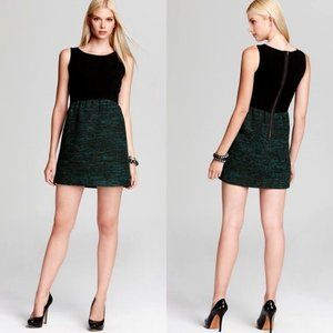 "Shoshanna ""Janine"" Crepe/Tweed Mini Dress- Sz. 0"